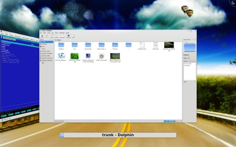 KDE 4.1 Coverswitch