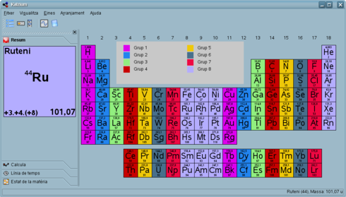 kalzium - Tabla Periodica De Los Elementos Gaseosos