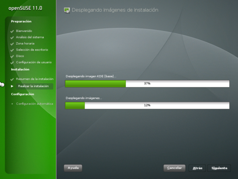 OpenSuSE 11.0 10