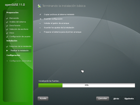 OpenSuSE 11.0 11