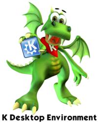 Konqi, mascota KDE