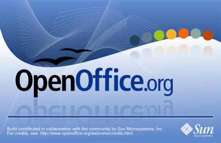 OpenOffice 3 splash screen