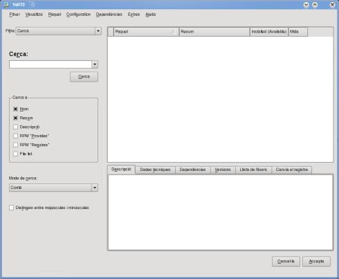 Cómo añadir repositorios a openSuSE 11.1 mediante YaST