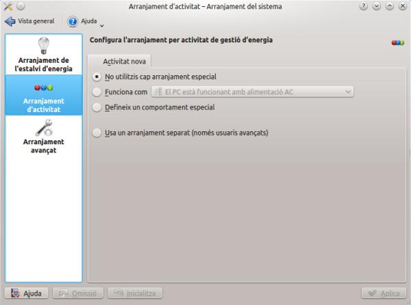 ¿Qué son las Actividades de KDE?