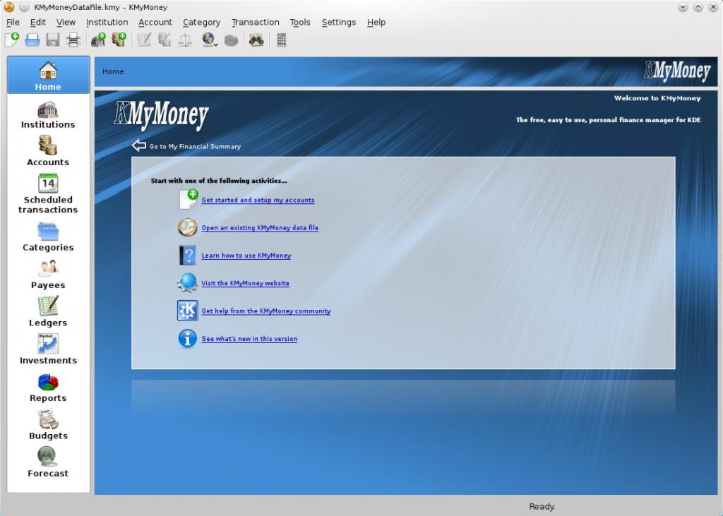 Lanzado KMyMoney 4.6.4