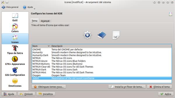 Cómo instalar colecciones de iconos desde KDE Look