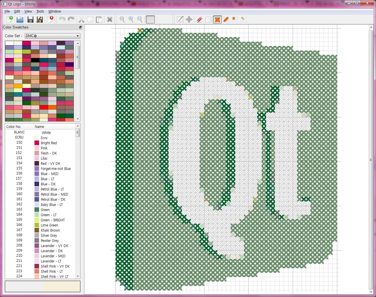 Stitchy, un nuevo programa para hacer punto de cruz - KDE Blog