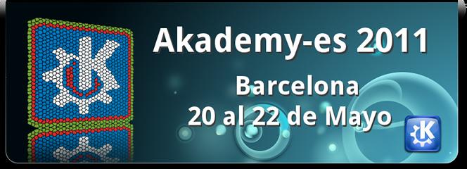 akademy-es 2011 banner