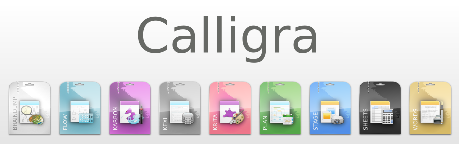 Disponible la primera beta de Calligra 2.8
