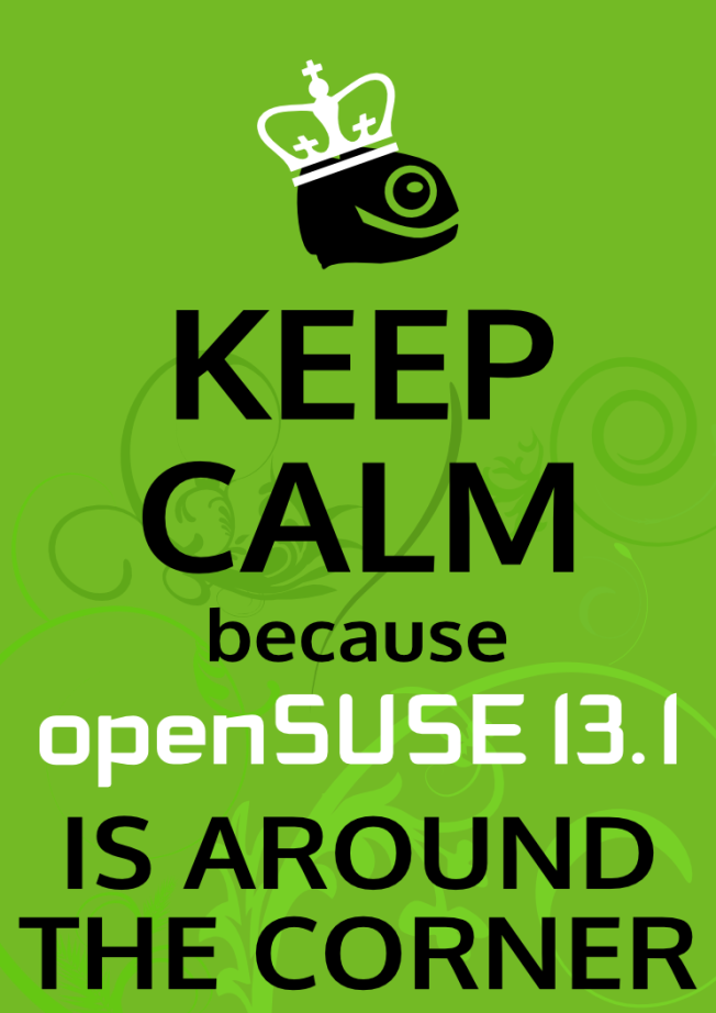 OpenSUSE 13.1 RC2