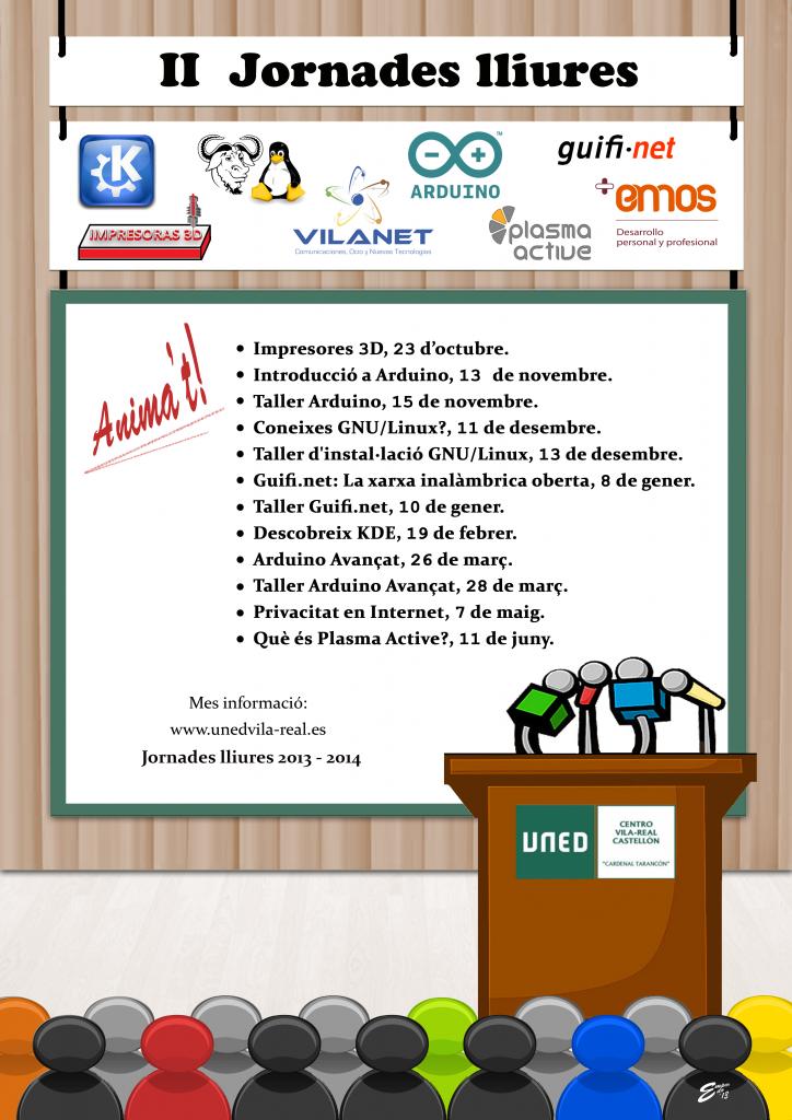 Linux en las II Jornadas Libres