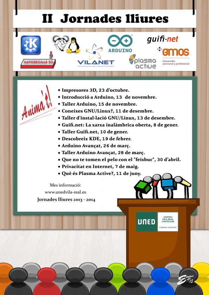 II Jornadas Libres de la UNED Vila-real