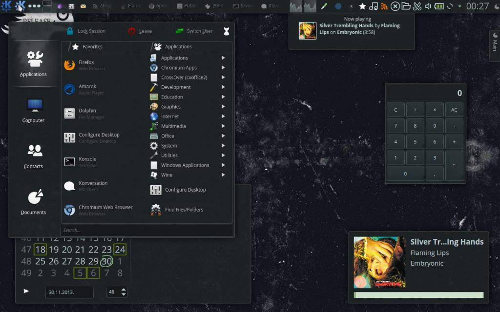 Plasma openSUSE Theme