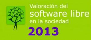 Encuesta sobre el Informe del Software Libre en la sociedad 2013