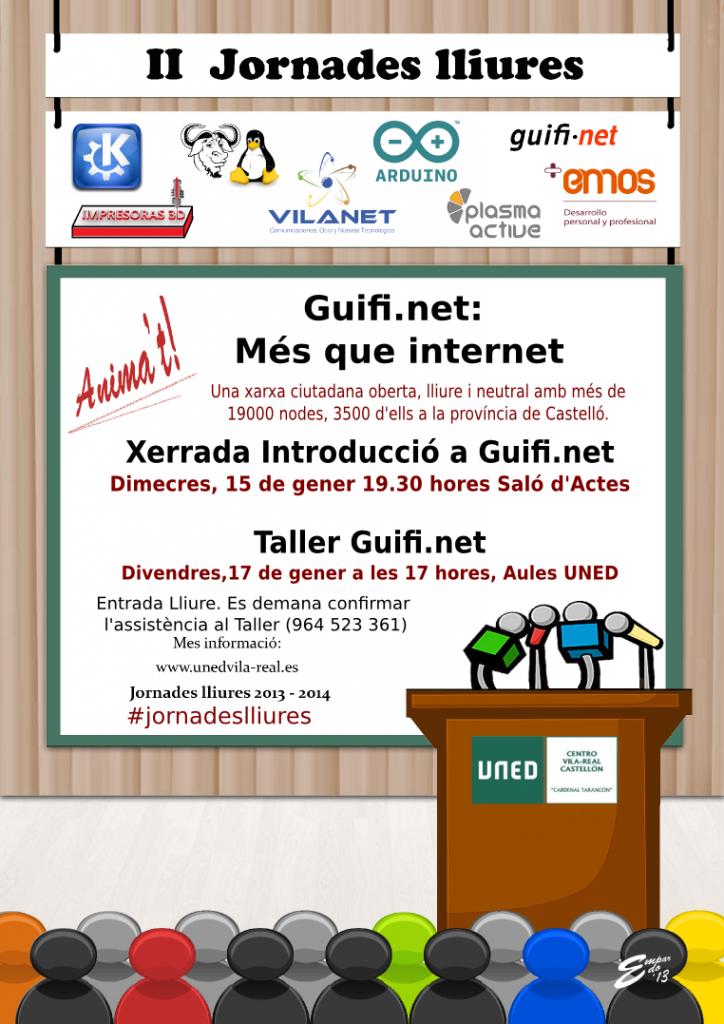 Guifi.net en las II Jornadas Libres