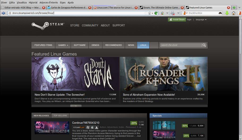 Cómo instalar Steam en Kubuntu