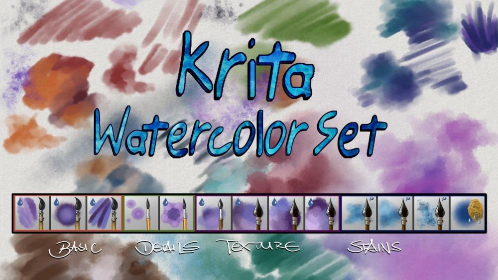 Noticias Krita vol 02 krita-pinceles-acuarela