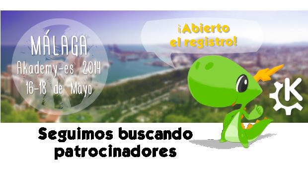 Abierto el registro de asistentes Akademy-es Málaga