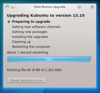 Cómo actualizarse a Kubuntu 14.04