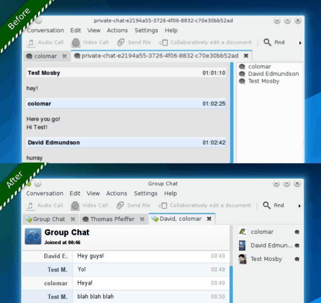 Sprint KDE Telepathy