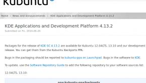 KDE 4.13.2