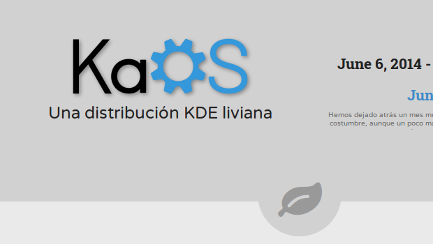 Disponible KaOS 2014.06