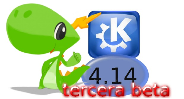 Disponible la tercera beta de KDE 4.14