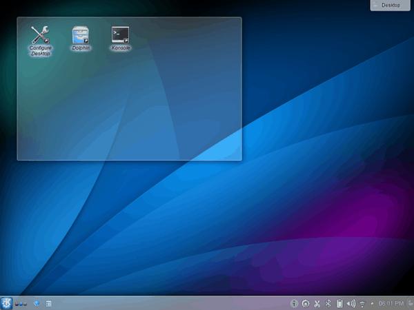 Escritorio Plasma KDE 4.14