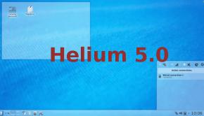 Helium, tema ligero para plasma KDE