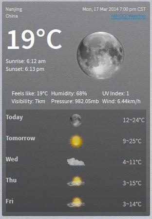 Yahoo Weather Widget_01