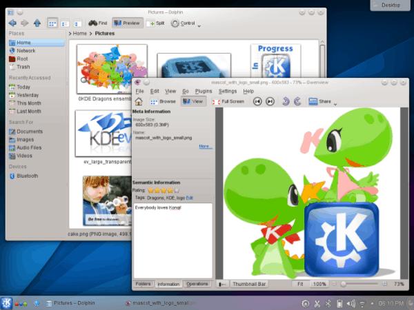 Lanzado KDE 4.14.1 Aplicaciones y Plataforma