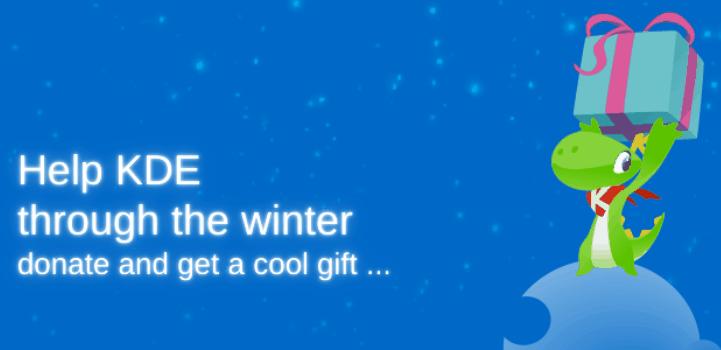 KDE inicia la campaña de recaudación de fondos 2016