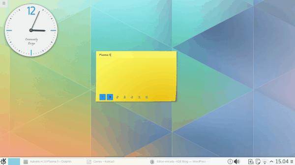 kubuntu 4.10 Plasma 5_02