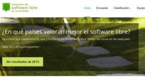 Encuesta sobre el Informe del Software Libre en la sociedad 2014