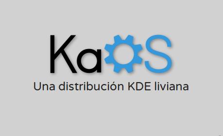 Vídeo de KaOS con KDE Plasma 5.12