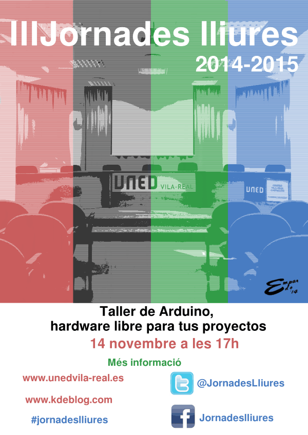 Taller Arduino III jornades lliures_14 de novembre