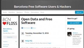 Open Data y Software Libre