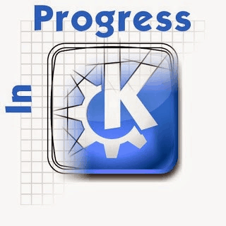 KDE in progress