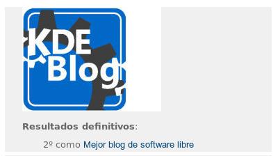 Resumen de KDE Blog del 2014