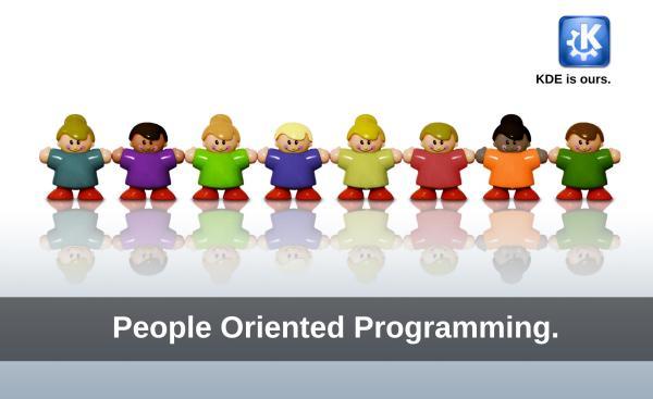 KDE es una comunidad de personas