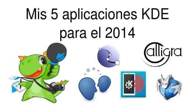 Mis 5 aplicaciones KDE para el 2015