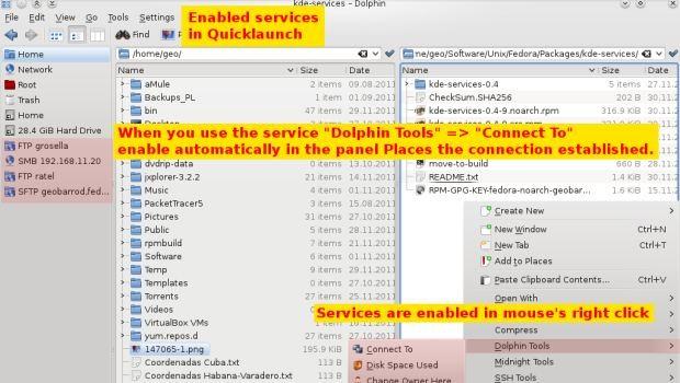 KDE-Services