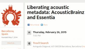 AcousticBrainz y Essentia