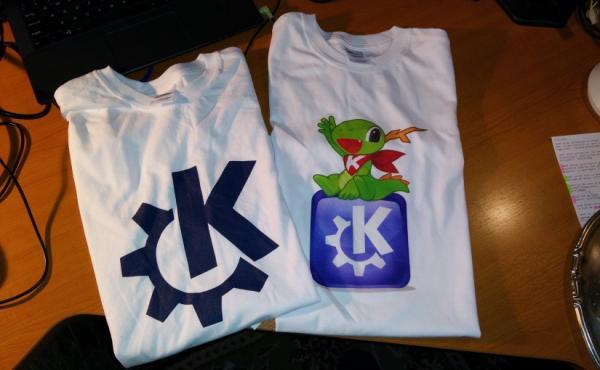 Nuevas Camisetas KDE