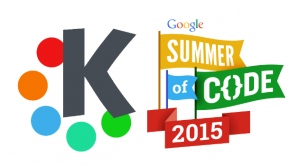 KDE aceptado en Google Summer of Code 2015