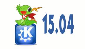 KDE Aplicaciones 15.04