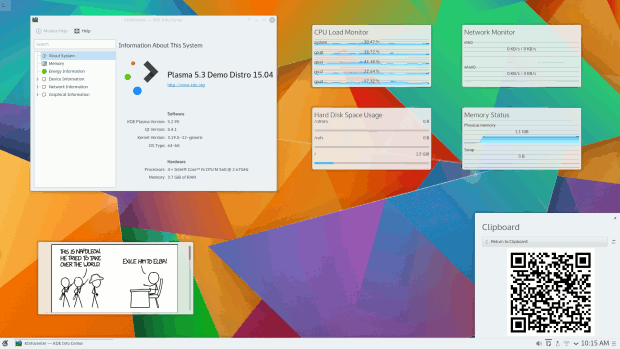 Lanzamiento de la primera beta de Plasma 5.3