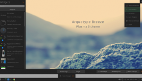 Arquetype GNU/Linux Breeze