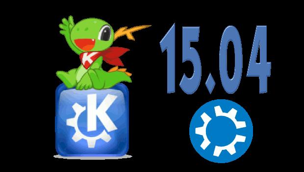 Disponible KDE 15.04.1