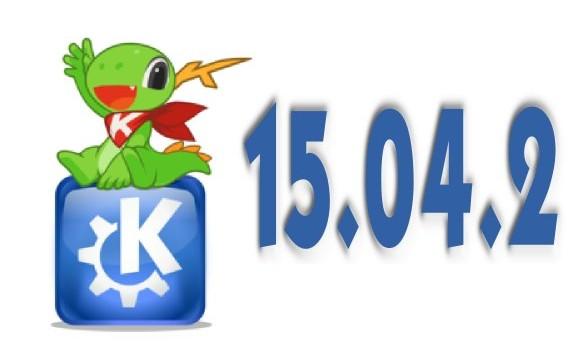 KDE Aplicaciones 15.04.2